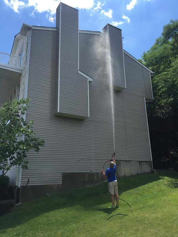 Pressure washing training